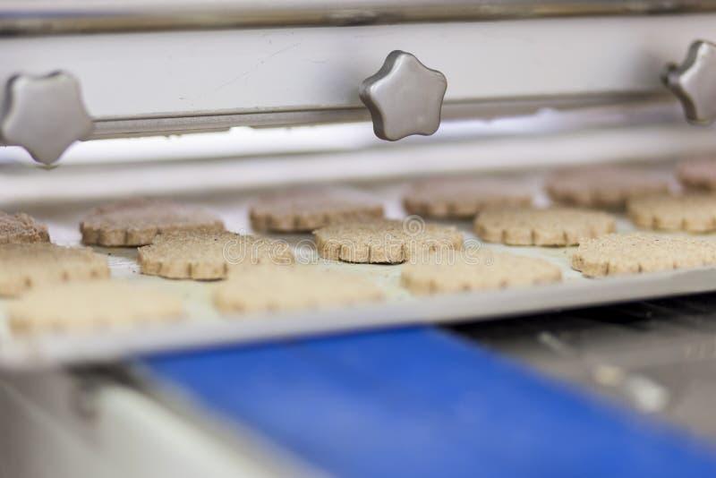 Fábrica de las galletas imagen de archivo libre de regalías