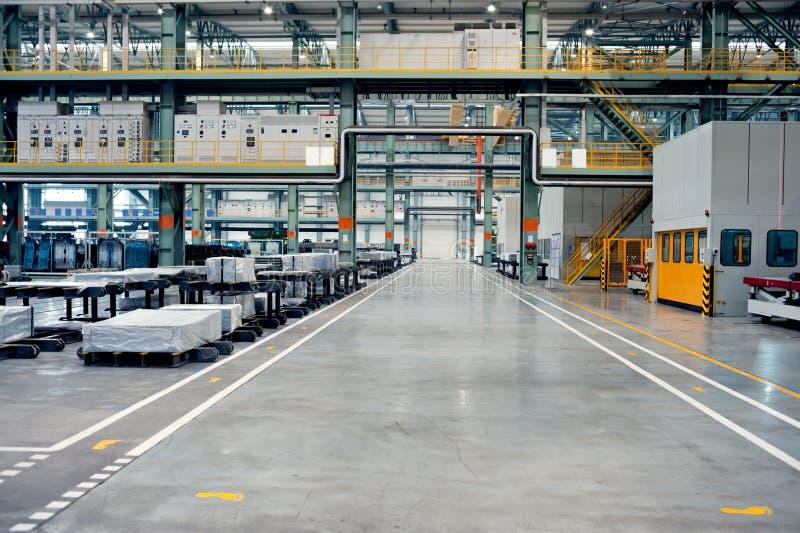 Fábrica de tratamento automotriz do metal de folha foto de stock