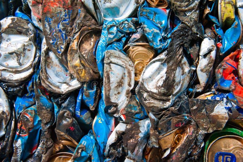 Fábrica del reciclaje de residuos fotos de archivo libres de regalías
