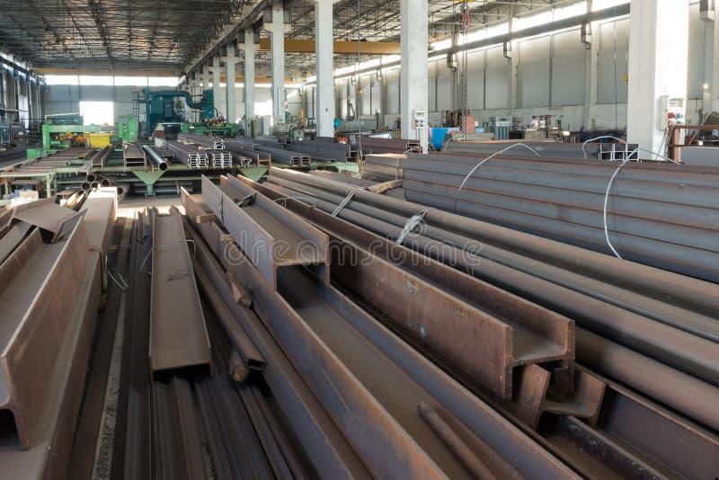 A fábrica do ferro foto de stock royalty free