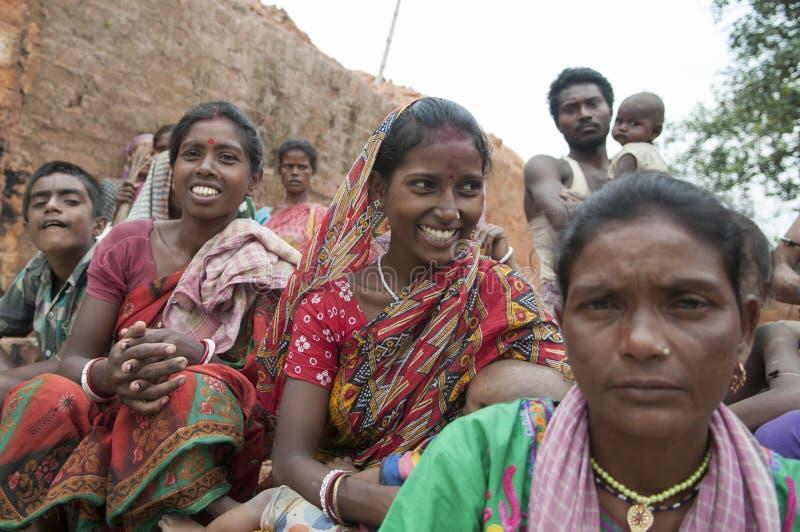Fábrica do tijolo na Índia fotos de stock royalty free