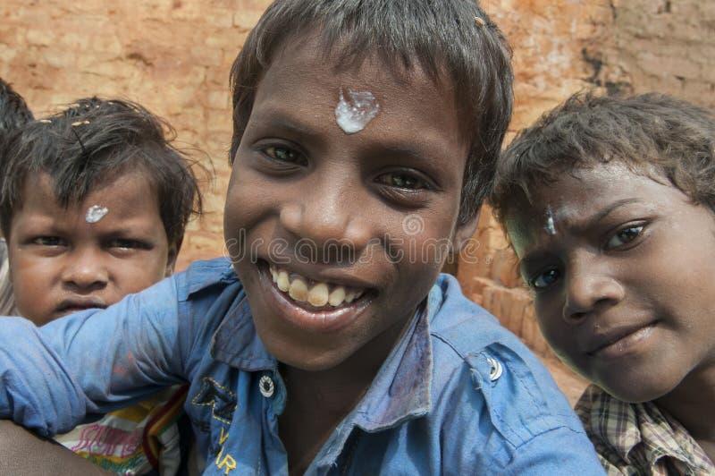 Fábrica do tijolo na Índia imagens de stock