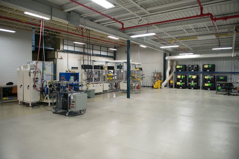 Fábrica industrial de la fabricación, máquinas de la industria foto de archivo libre de regalías