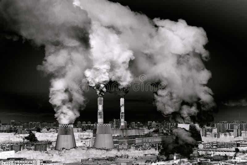 Fábrica Paisaje industrial imagenes de archivo