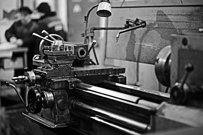 Fábrica vieja de la maquinaria foto de archivo libre de regalías