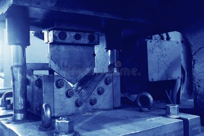 Fábrica vieja de la maquinaria fotografía de archivo libre de regalías