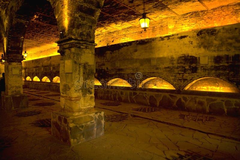 Fábrica vieja Guadalajara México del Tequila imagen de archivo