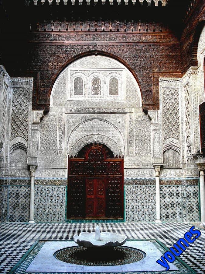 Fès, Maroc-patrimoine mondial stockfoto