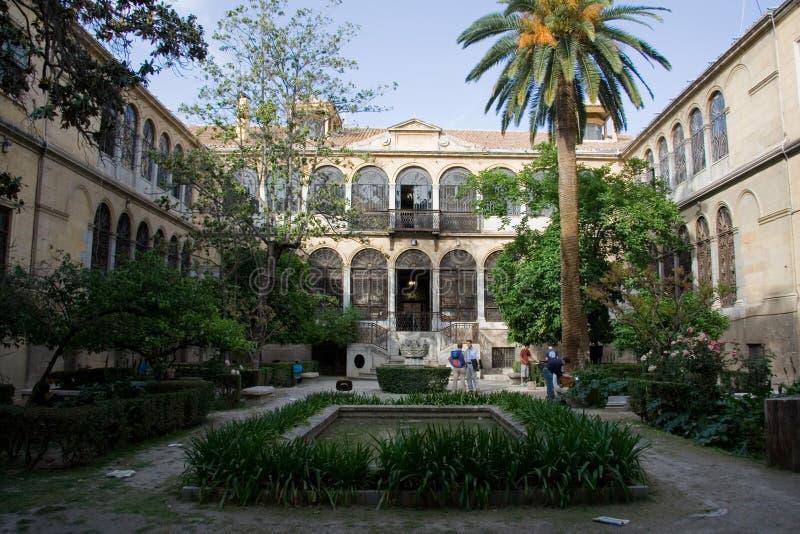 Fähigkeit von Interpretating Granada stockbild