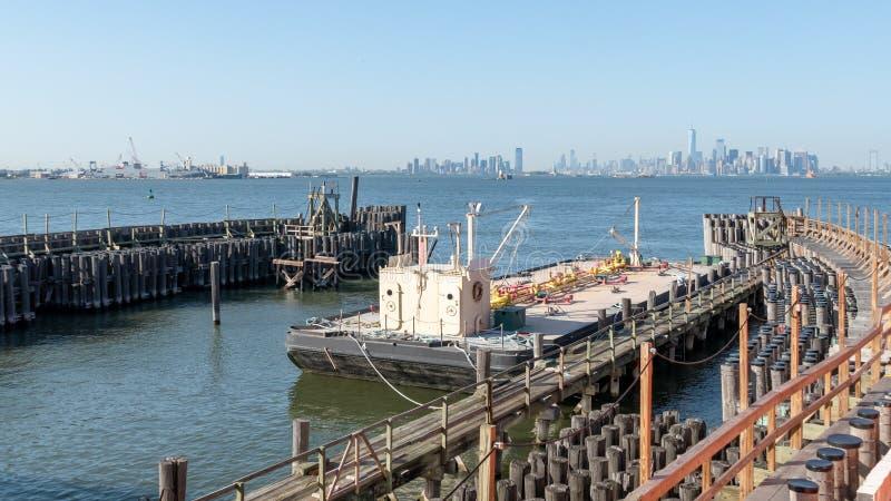 F?hre bei Staten Island lizenzfreie stockbilder