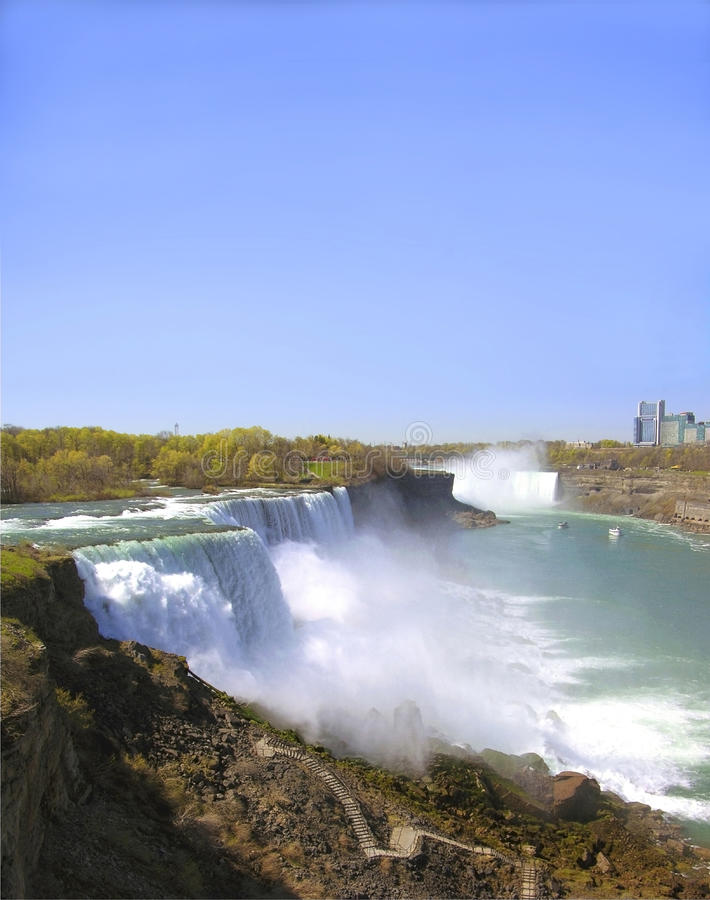 Fälle Niagara New York stockfotos