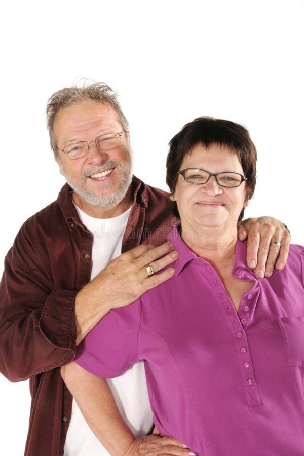 Fällige Paare lizenzfreies stockfoto