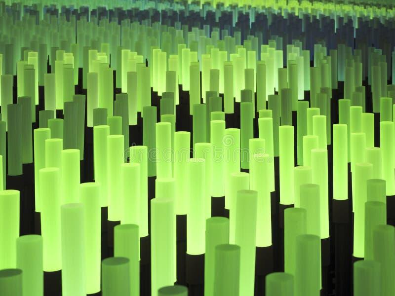 Fält för ljuspinneabstrakt begrepp arkivfoton