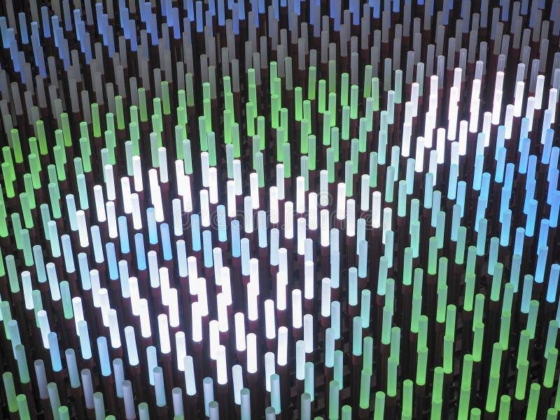 Fält för ljuspinneabstrakt begrepp arkivbilder
