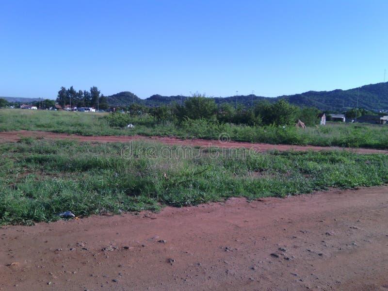 Fält i Garankuwa fotografering för bildbyråer