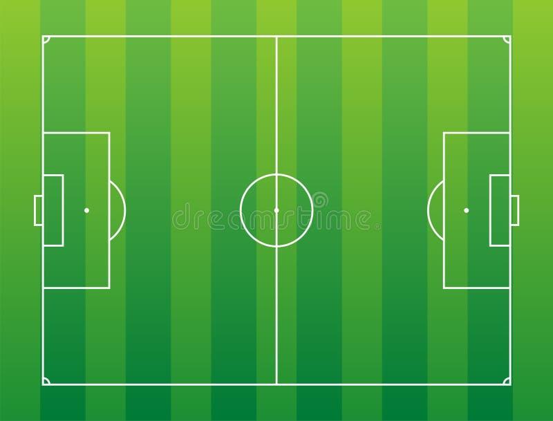 fältfotboll vektor illustrationer