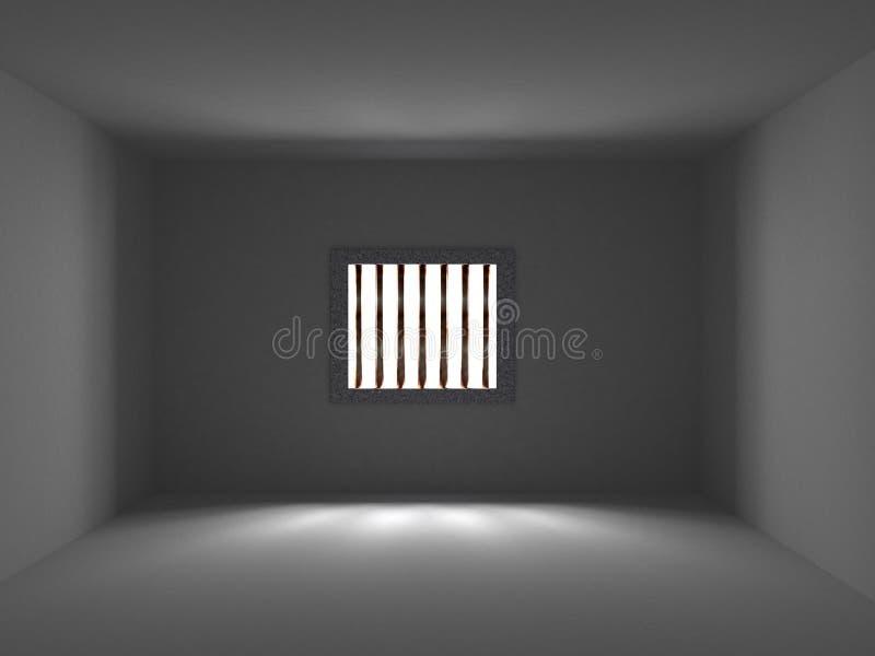 fängelselokal stock illustrationer
