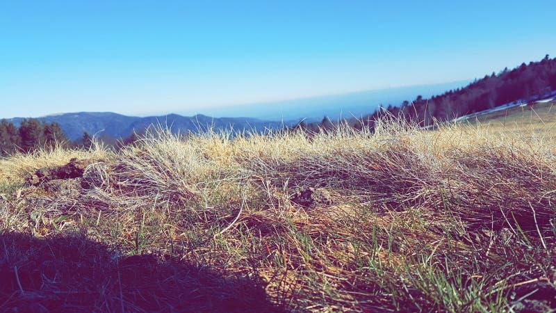 Fängt Berg auf stockfoto