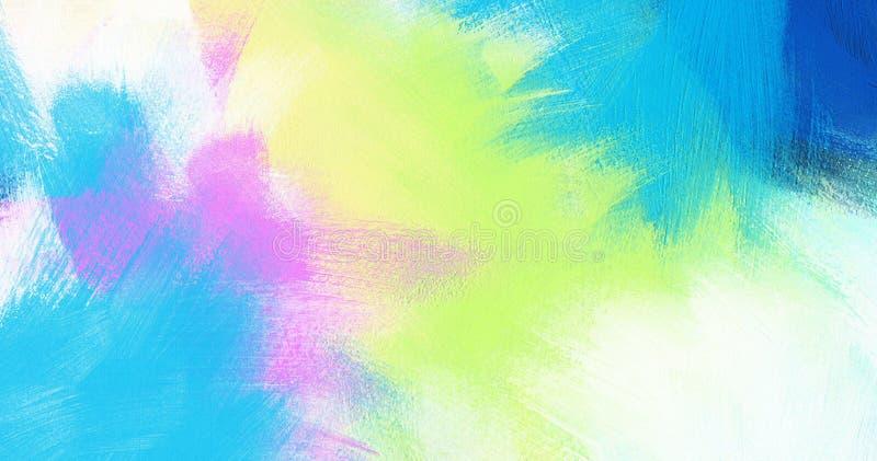 Färben Sie meine Welt - modischer und bunter Hintergrundentwurf vektor abbildung
