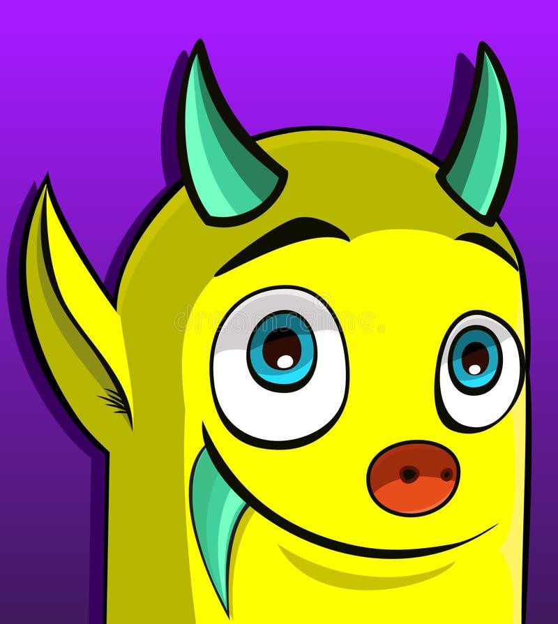 Färben Sie Monster (120) .jpg Gelb Stock Abbildung - Illustration ...