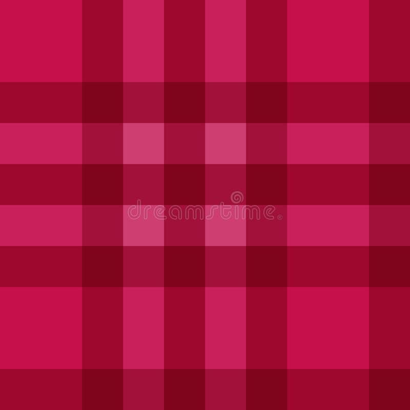 färben Sie schottisches Beschaffenheitsgewebe des Plaidmusters stock abbildung