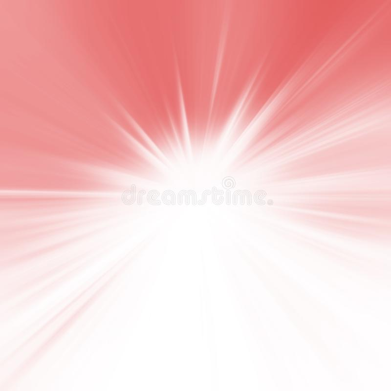 Färg av året 2019: Textur av kulört poröst gummi Abstrakt bakgrund för solljus Rosa bakgrund för färgbristning Solstrålstråle vektor illustrationer