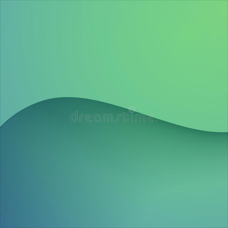 Färg för abstrakt bakgrund för vektor grön royaltyfri illustrationer