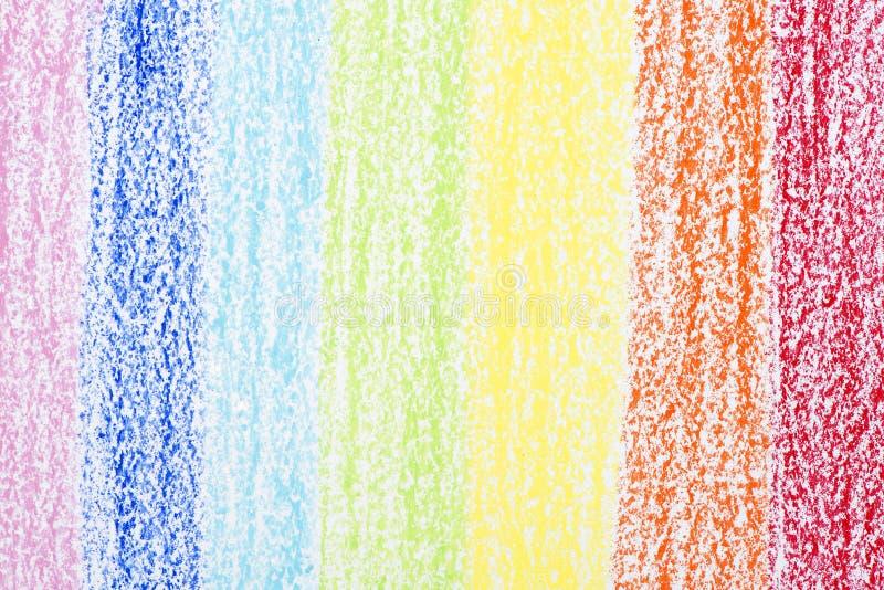 Färg på papper arkivbild