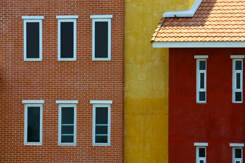 Färg på väggen royaltyfri bild