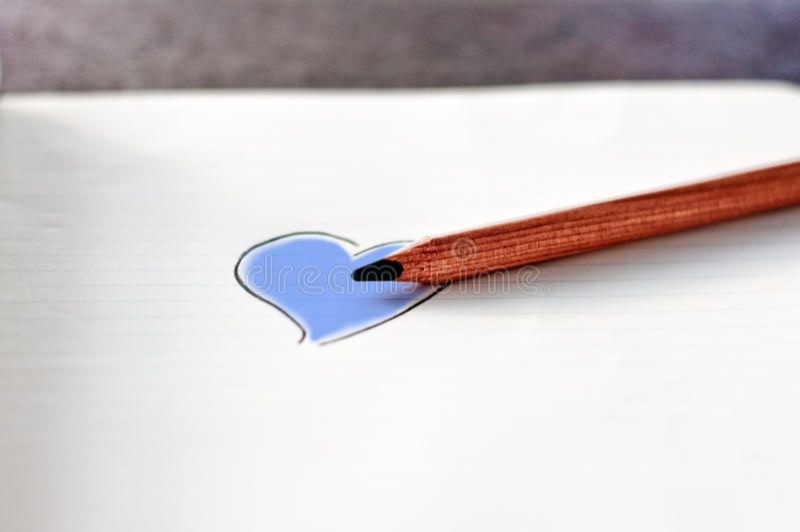 Färga din hjärta royaltyfri foto