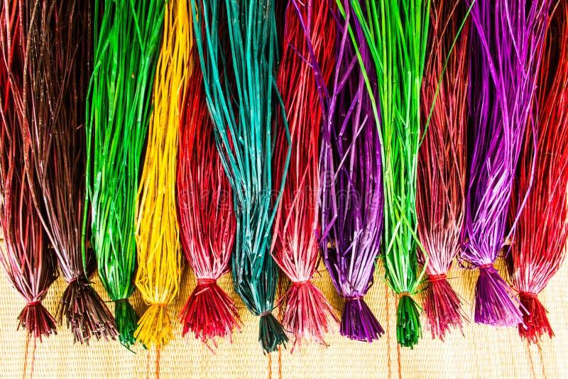 Färga för papyrus fotografering för bildbyråer