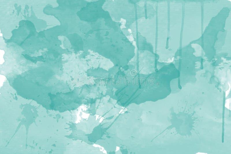 färgad mång- fläckakvarell för abstrakt begrepp royaltyfri illustrationer