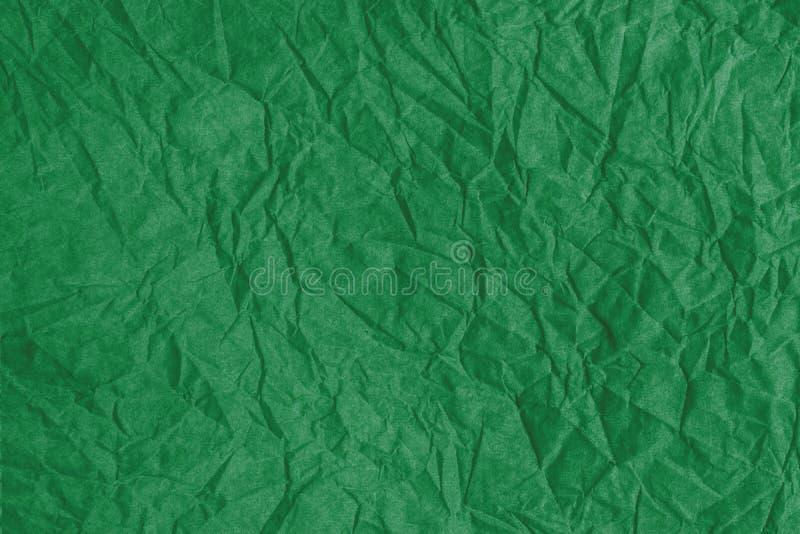 Färgad textur skrynklade dekorativt förpackande papper för mönstrade band, arkivbild