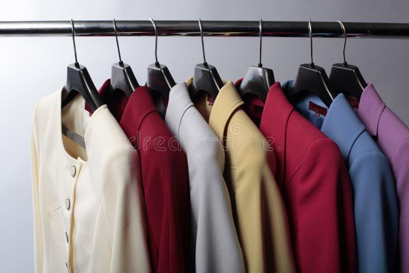 färgade blazers arkivfoto