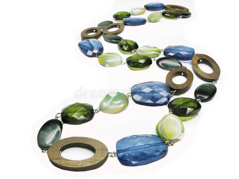 färgade pärlor royaltyfri foto