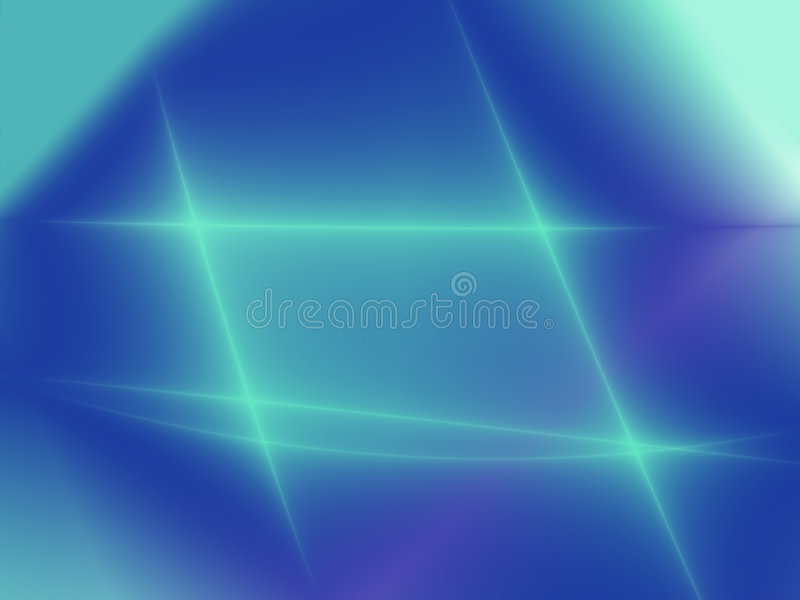 färgade waves stock illustrationer
