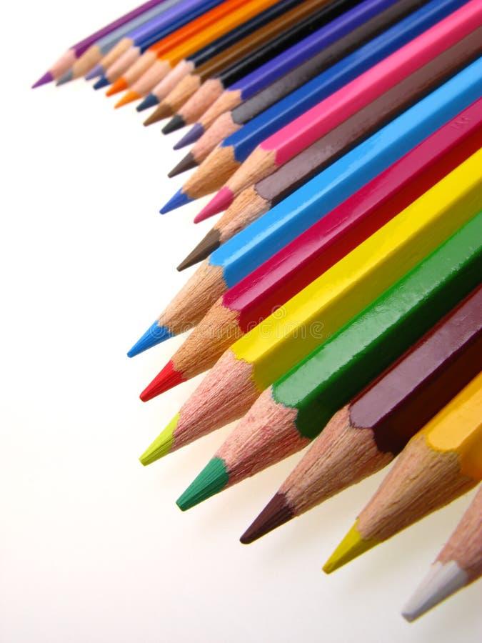 Färgat ritar arkivfoton