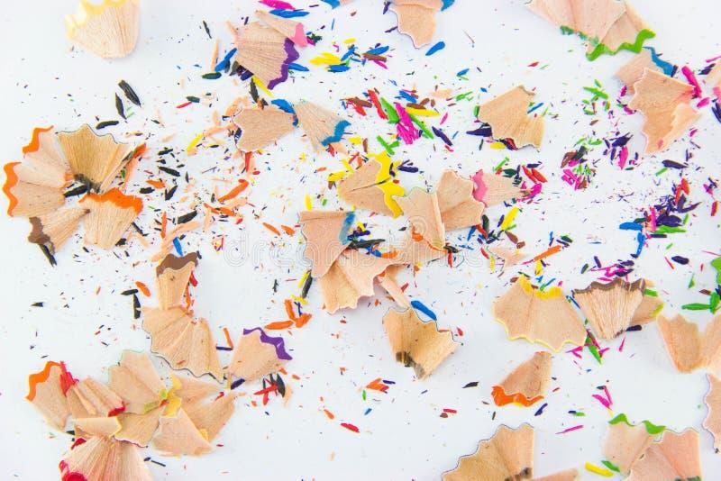 Färgblyertspennagrafit Färgrik bakgrund för din design royaltyfria bilder