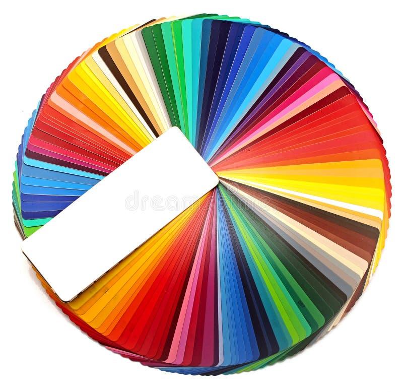 Färgcirkel arkivbilder