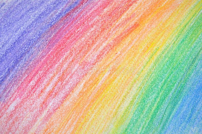 färgcrayon arkivfoton