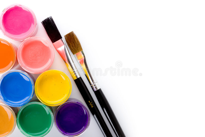 färger arkivfoto