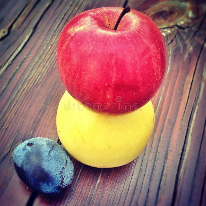 Färger av frukter royaltyfri bild