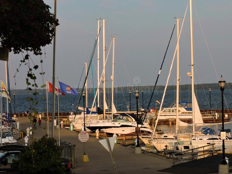 Färger av hamnen fotografering för bildbyråer