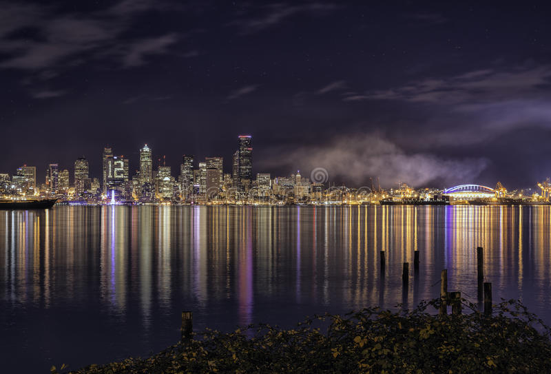 Färger av Seattle royaltyfria foton