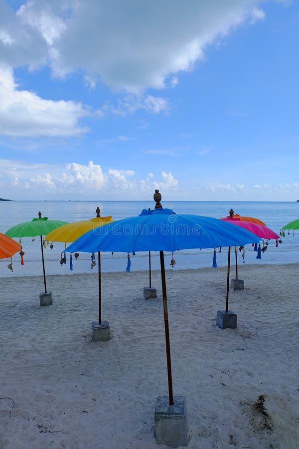 Färger av stranden royaltyfri bild