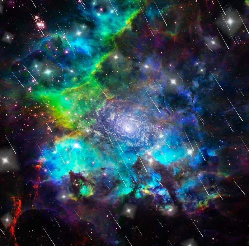 Färger av universum vektor illustrationer