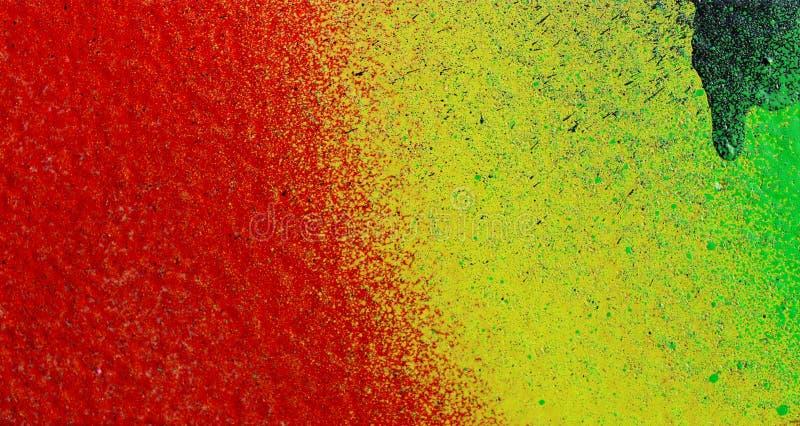 Färger på en vägg arkivfoton