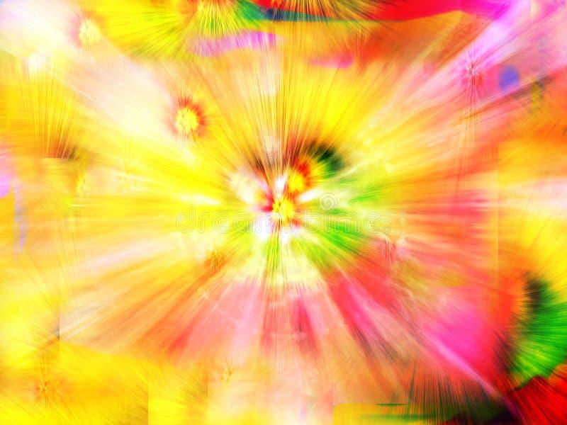 färgfantasi vektor illustrationer