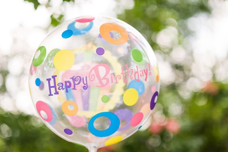 Färgglad ballong för berömmar arkivbilder
