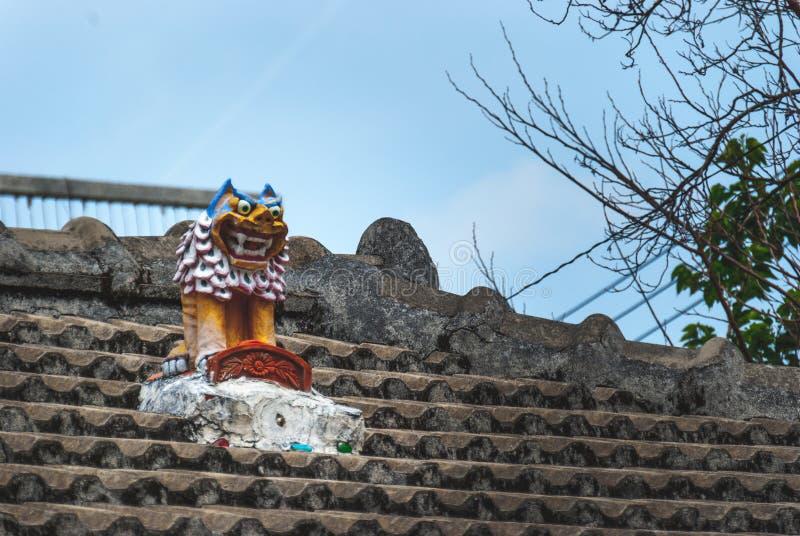 Färgglad Okinawa krukmakeri arkivfoton